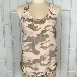 Hardtail Forever Pink Camouflage Camo Tank Top
